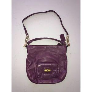 Purple Coach Purse/Handbag